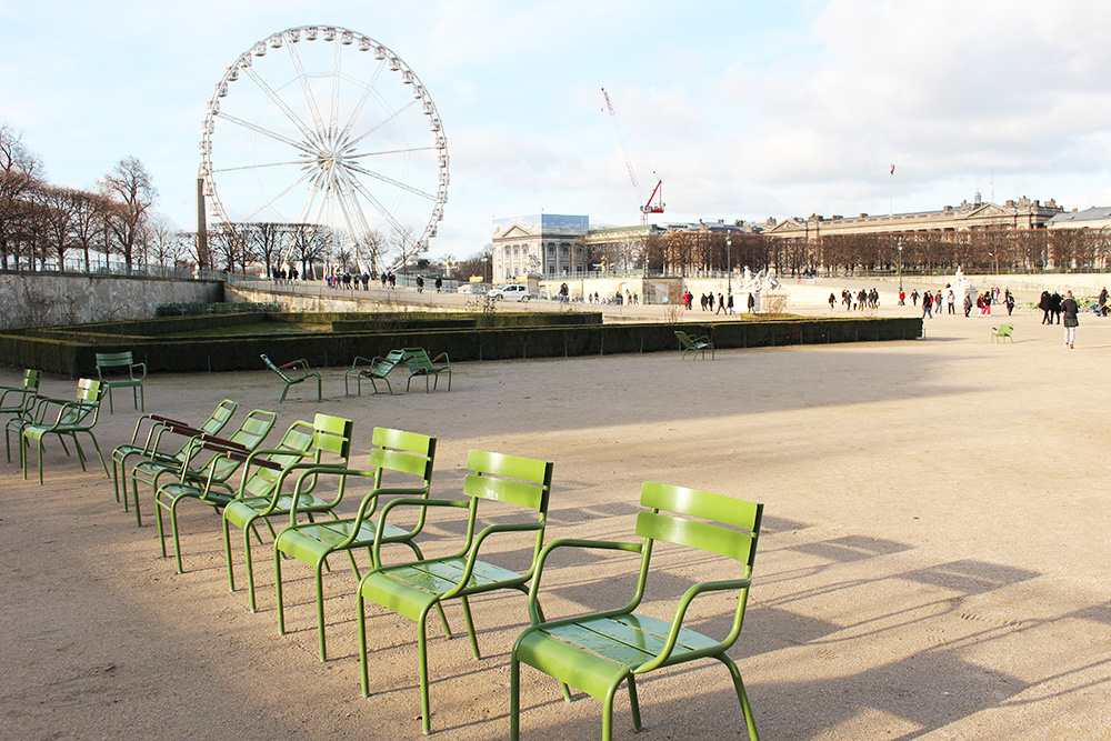 Tuileries winter